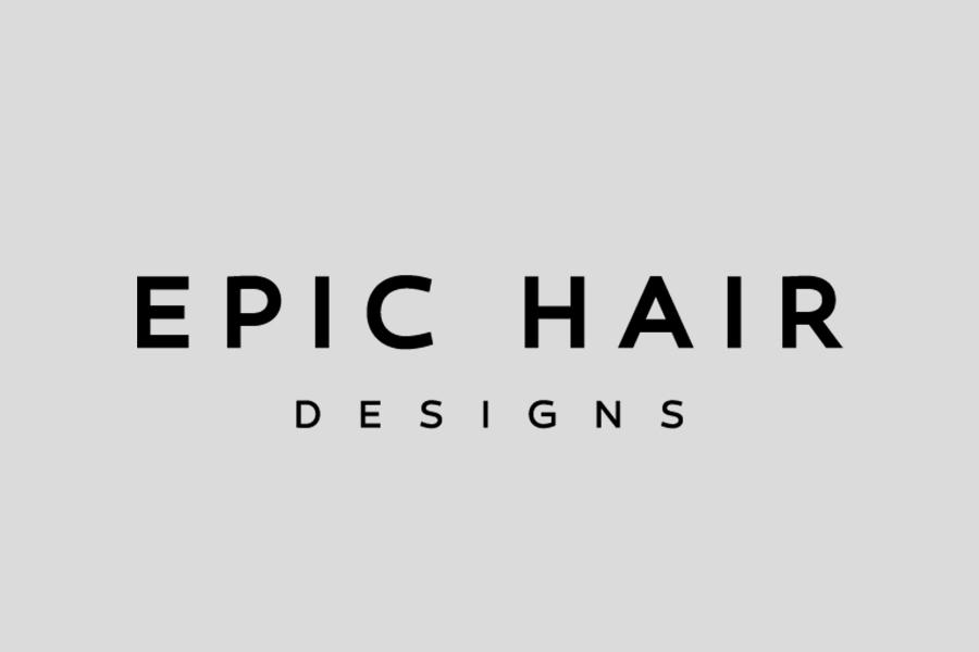 epic hair logo
