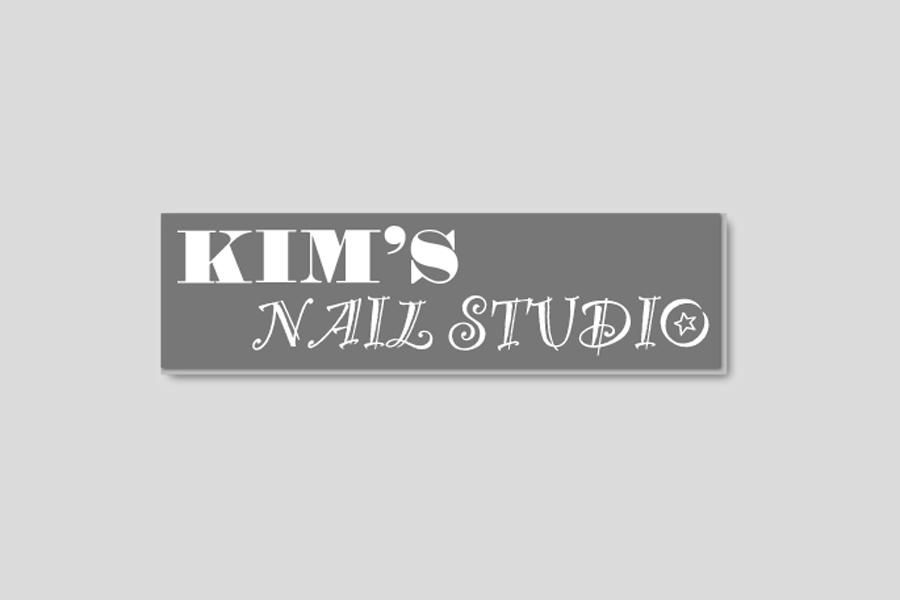 kim's nails logo