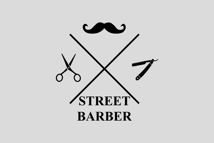 street barber logo